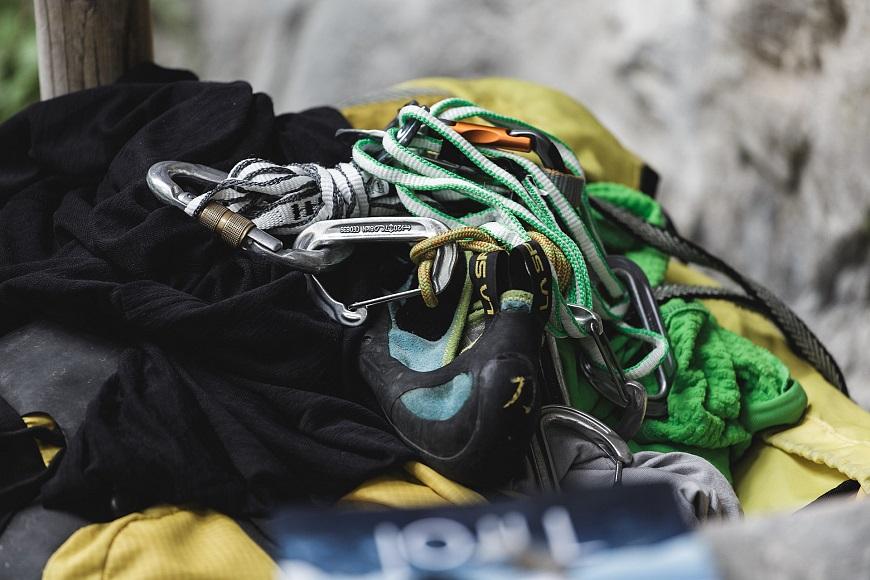 Kletterausrüstung Verstauen : Das 1x1 der kletterausrüstung